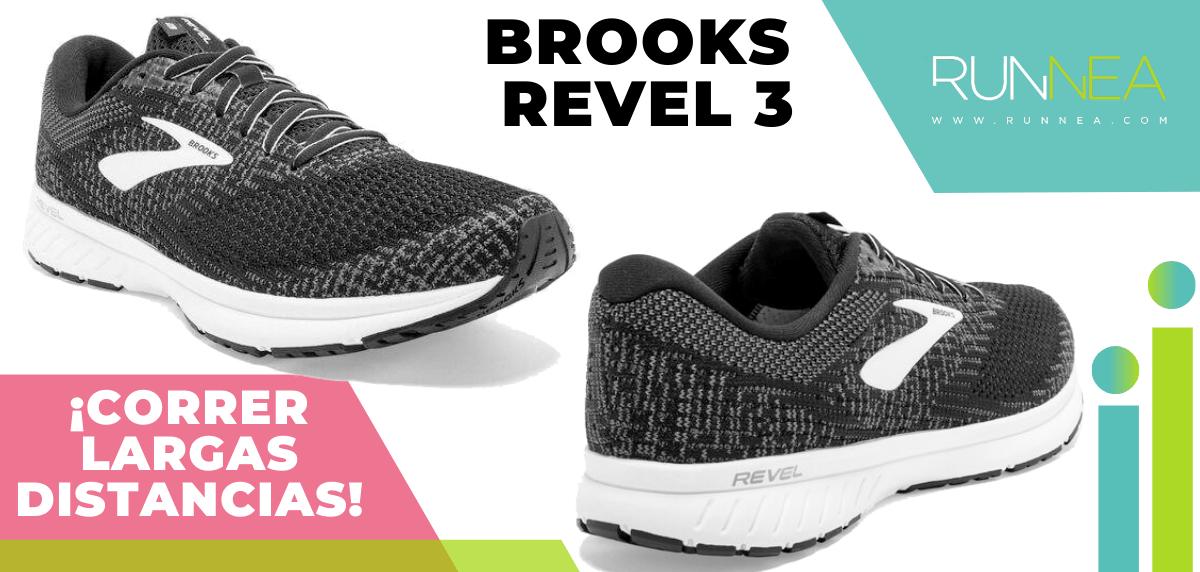 Zapatillas para correr largas distancias con buena relación calidad/precio - Brooks Revel 3