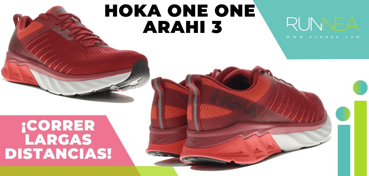 Zapatillas para correr largas distancias con buena relación calidad/precio - Hoka One One Arahi 3