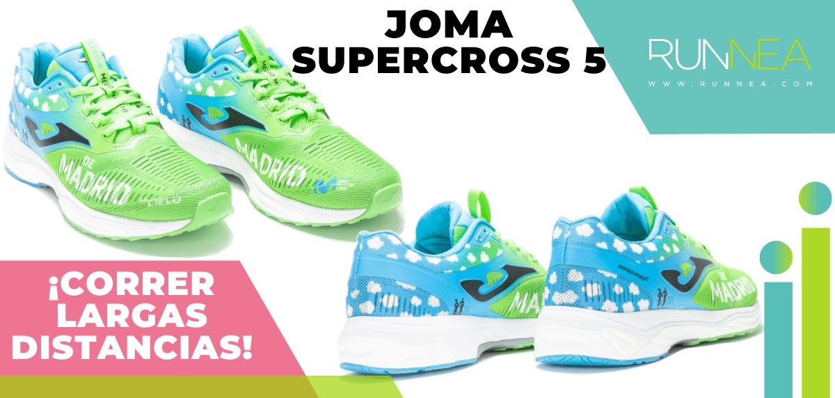 Zapatillas para correr largas distancias con buena relación calidad/precio - Joma Supercross 5