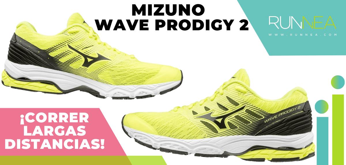 Zapatillas para correr largas distancias con buena relación calidad/precio - Mizuno Wave Prodigy 2