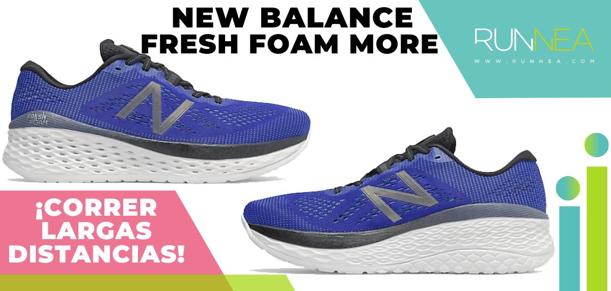 Zapatillas para correr largas distancias con buena relación calidad/precio - New Balance Fresh Foam More