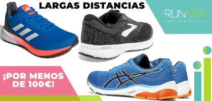 Las 11 mejores zapatillas para correr largas distancias que te pueden encajar por precio