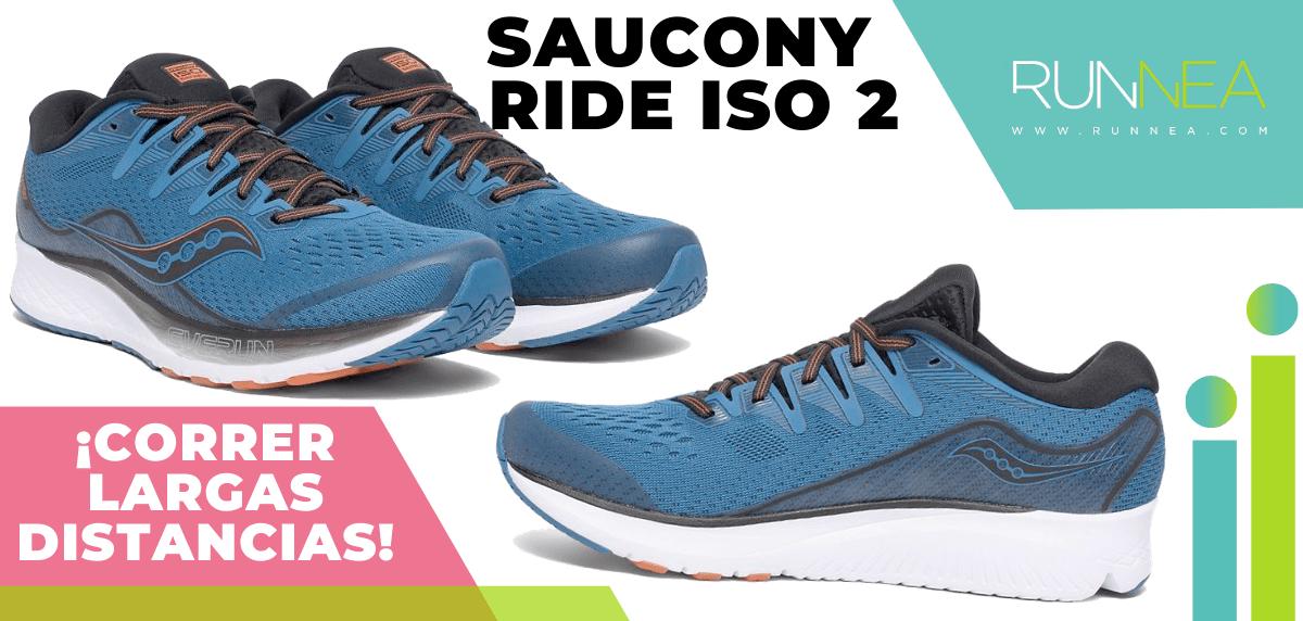 Zapatillas para correr largas distancias con buena relación calidad/precio - Saucony Ride ISO 2