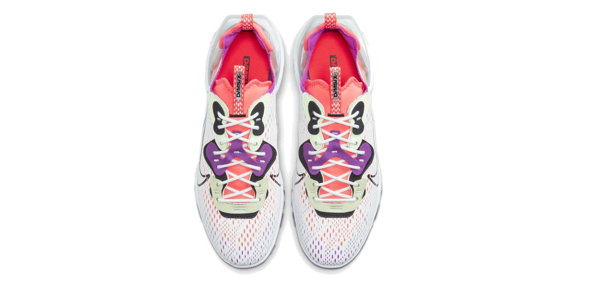 Nike React Vision, upper