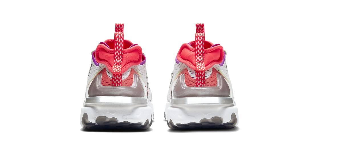 Nike React Vision, talón