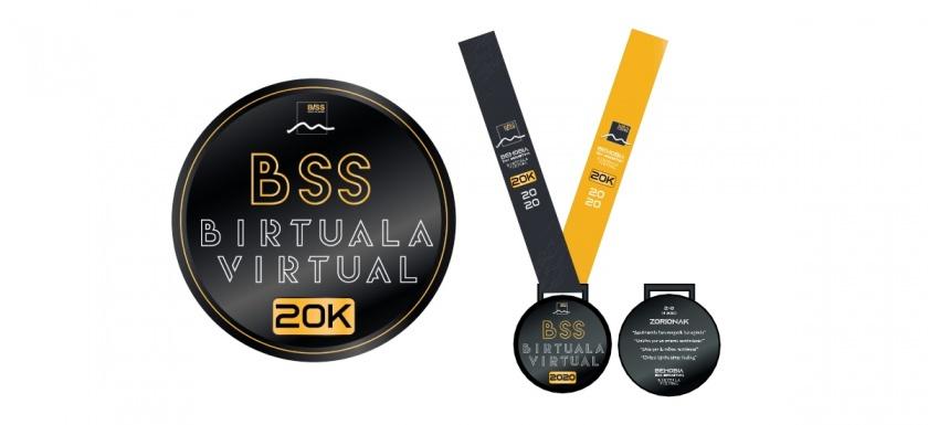 medalla behobia san sebastián virtual runnea