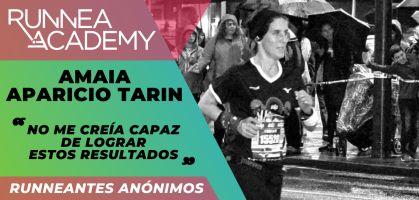 """Amaia Aparicio: """"No me creía capaz de lograr estos resultados"""""""