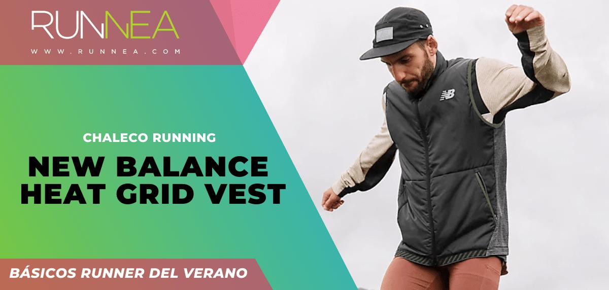 Los imprescindibles que todo runner necesita para correr este verano ¡no son zapatillas! - New Balance Heat Grid Vest