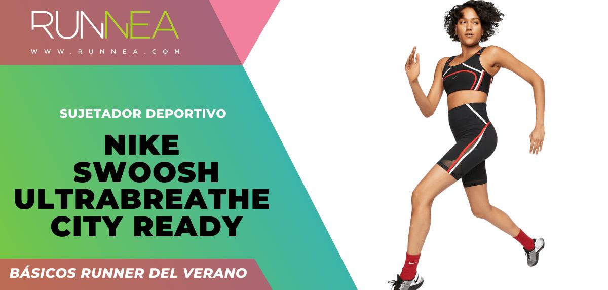 Los imprescindibles que todo runner necesita para correr este verano ¡no son zapatillas! - Nike Swoosh UltraBreathe City Ready