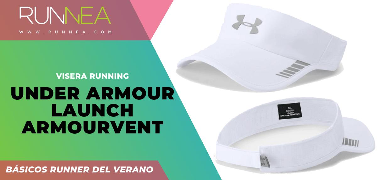 Los imprescindibles que todo runner necesita para correr este verano ¡no son zapatillas! - Under Armour Launch ArmourVent
