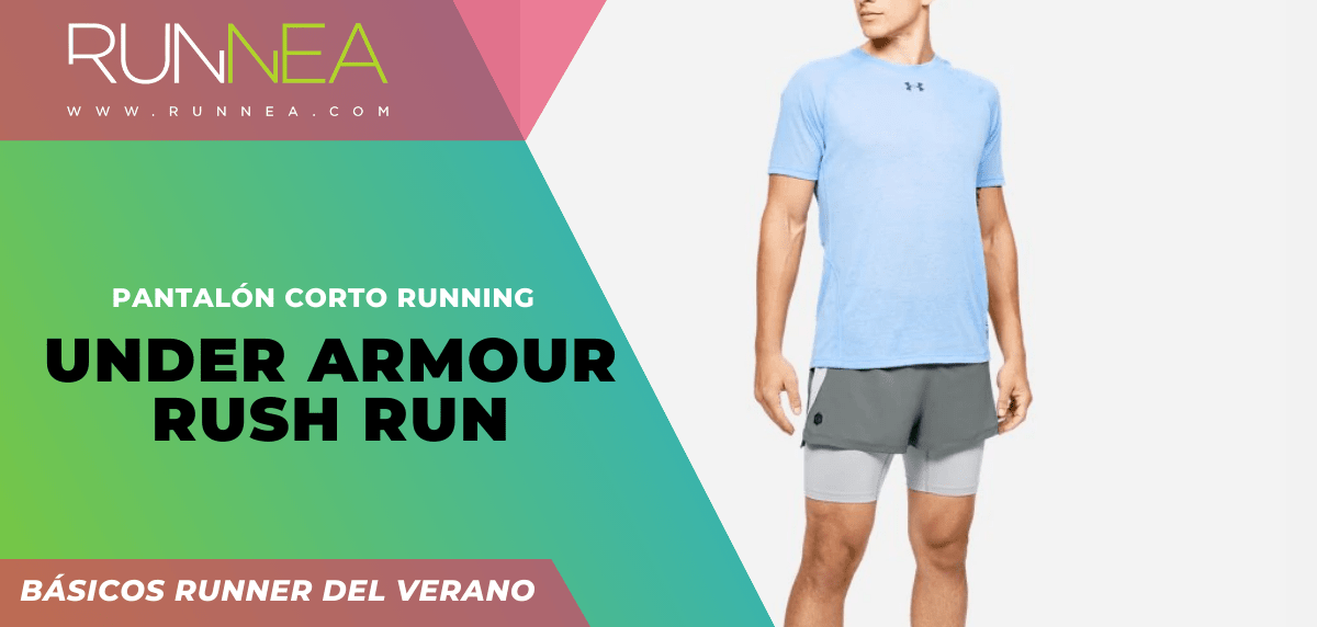 Los imprescindibles que todo runner necesita para correr este verano ¡no son zapatillas! - Under Armour Rush Run