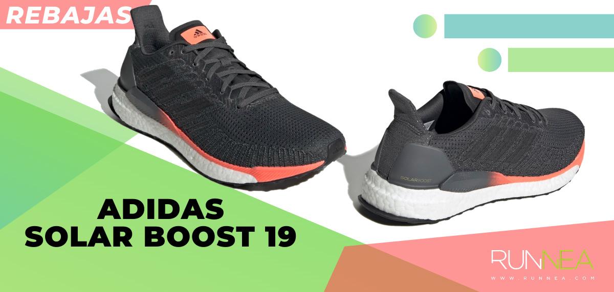 Las mejores rebajas de verano en zapatillas de running superventas - adidas Solarboost 19