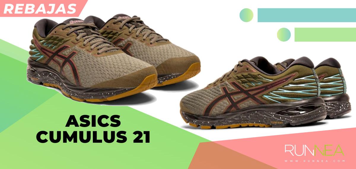 Las mejores rebajas de verano en zapatillas de running superventas - ASICS Cumulus 21