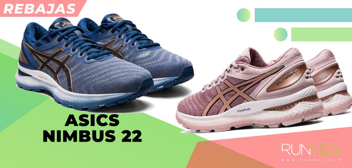 Las mejores rebajas de verano en zapatillas de running superventas - ASICS Nimbus 22