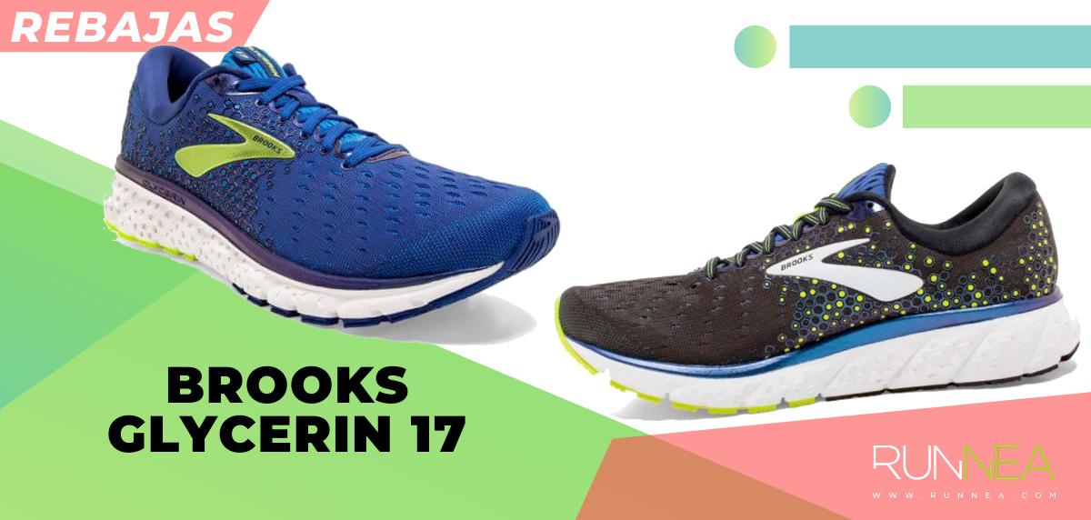 Las mejores rebajas de verano en zapatillas de running superventas - Brooks Glycerin 17