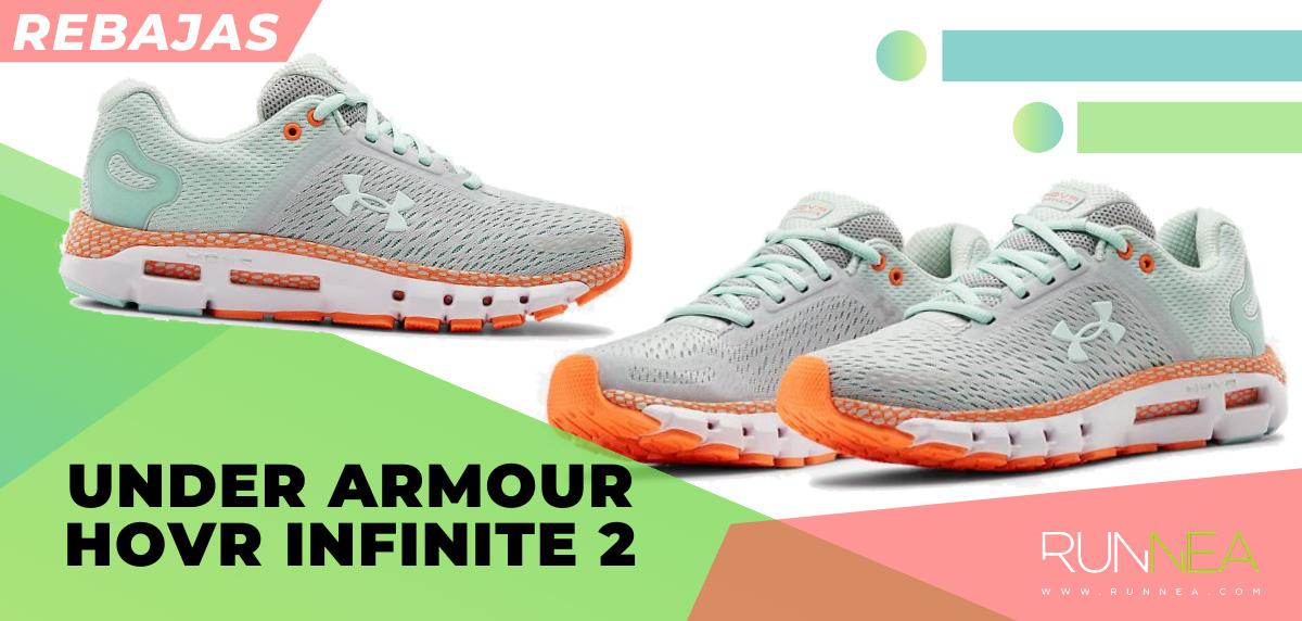 Las mejores rebajas de verano en zapatillas de running superventas - Under Armour HOVR Infinite 2