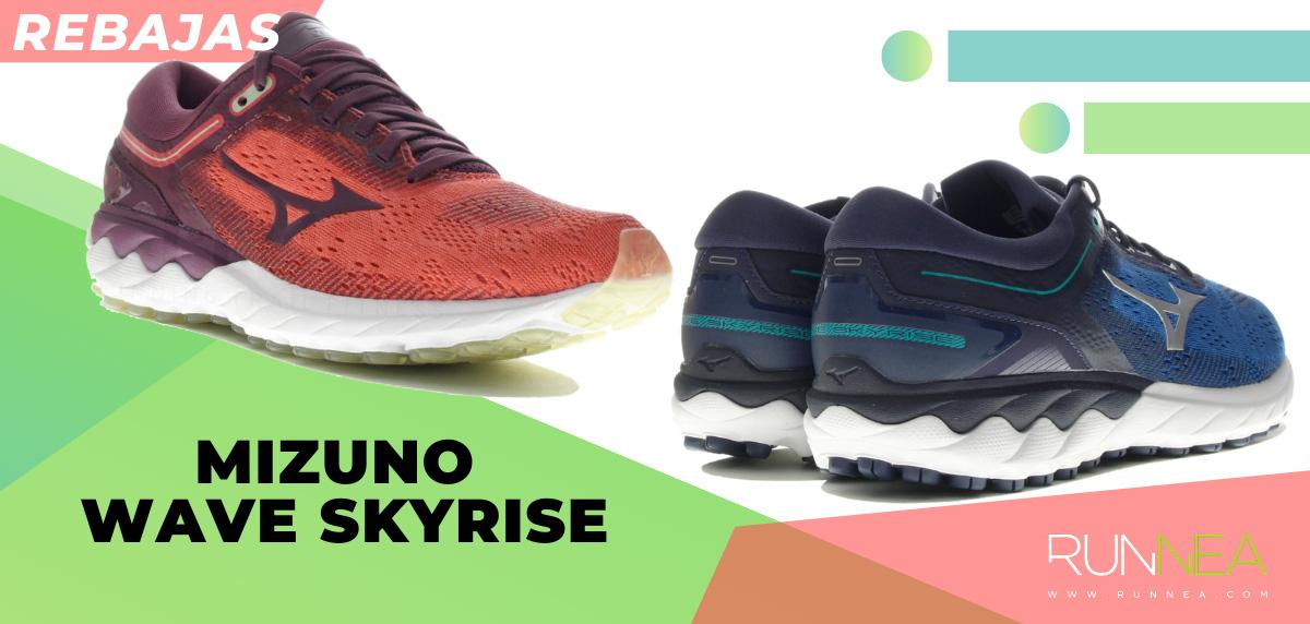 Las mejores rebajas de verano en zapatillas de running superventas - Mizuno Wave Skyrise