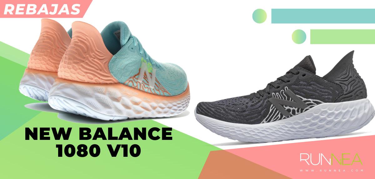 Las mejores rebajas de verano en zapatillas de running superventas - New Balance Fresh Foam 1080v10