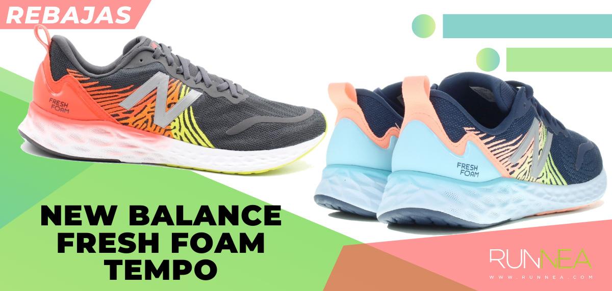 Las mejores rebajas de verano en zapatillas de running superventas - New Balance Fresh Foam Tempo