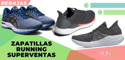 Las mejores rebajas en las zapatillas de running superventas