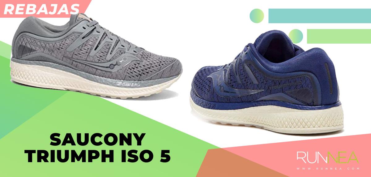 Las mejores rebajas de verano en zapatillas de running superventas - Saucony Triumph ISO 5