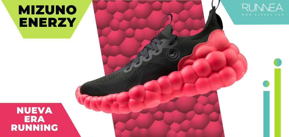 Mizuno ENERZY: ¿Creías que lo habías visto todo en zapatillas con amortiguación reactiva?