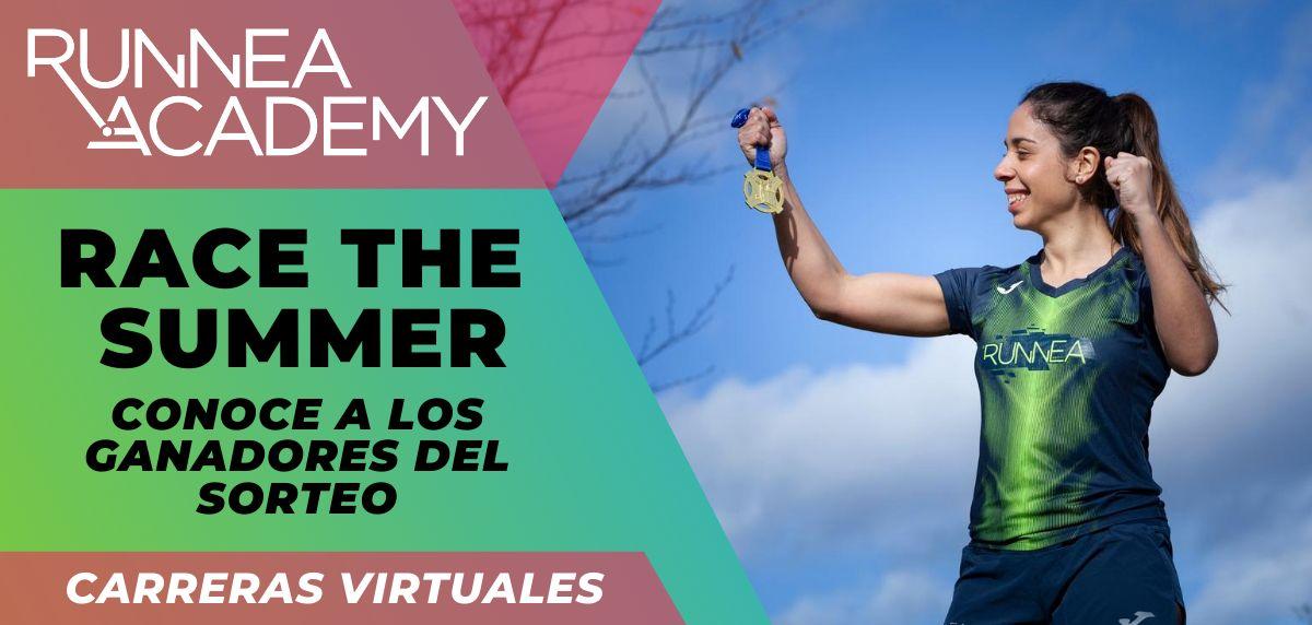 Te presentamos los ganadores del sorteo Race the Summer, nuestra primera carrera virtual