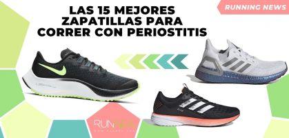 Las 15 mejores zapatillas para correr con periostitis