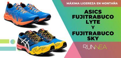 Fujitrabuco Lyte y Fujitrabuco Sky, las zapatillas trail running más ligeras de ASICS