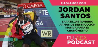 Jordan Santos: Las zapatillas running se han convertido en armas de destrucción masiva para el cronómetro