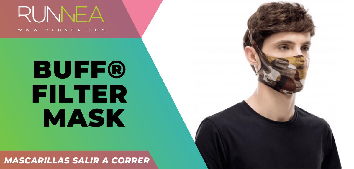 Mejores mascarillas para salir a correr - BUFF® Filter Mask