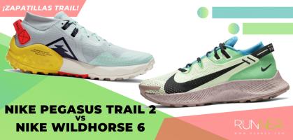 Nike Pegasus Trail 2 vs Nike Wildhorse 6: ¿Qué zapatilla de trail running elegir y para qué?