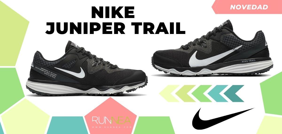 Las novedades 2020 de Nike en zapatillas de trail running, Nike Juniper Trail