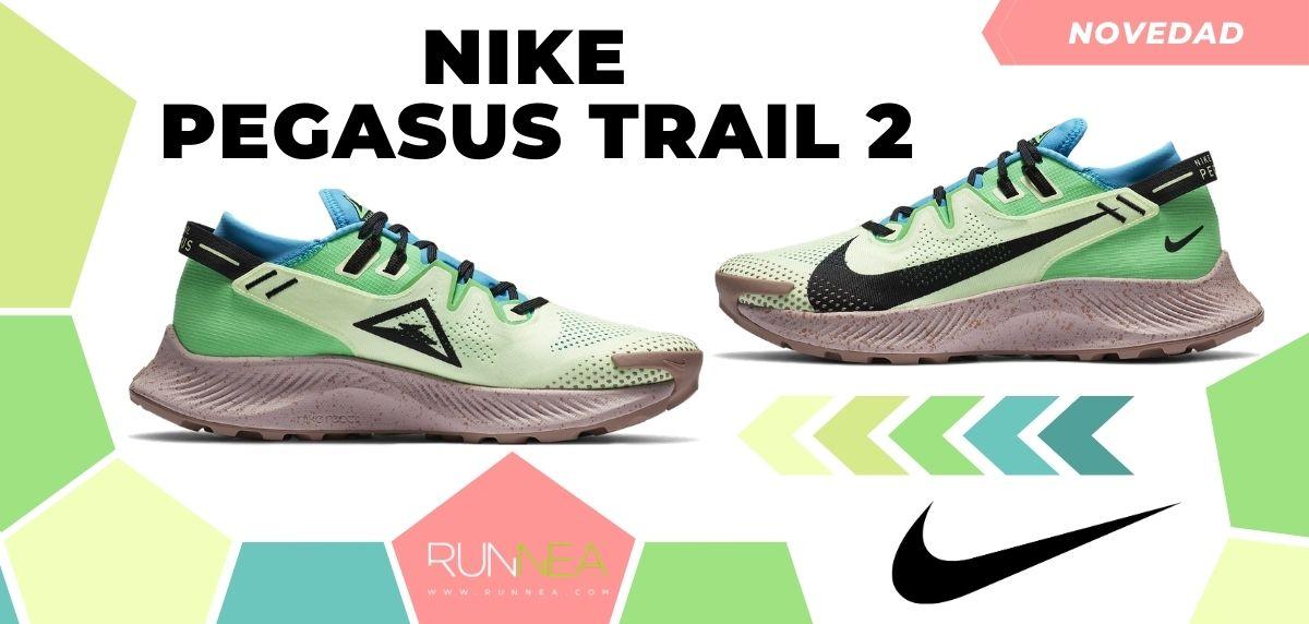 Las novedades 2020 de Nike en zapatillas de trail running, Nike Pegasus Trail 2