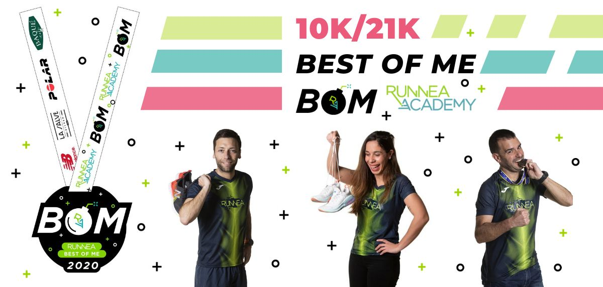 ¡BOM! Runnea Best Of Me: La carrera virtual con la que recuperarás la motivación