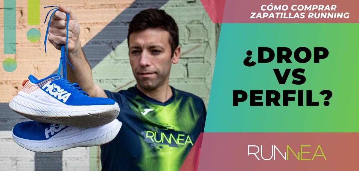 ¿Buscas nuevas zapatillas de running? ¡No mires tanto el drop, y fijáte en su perfil!