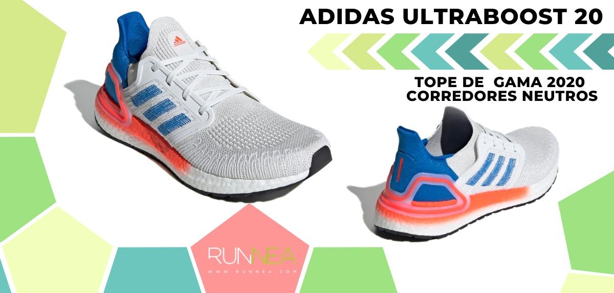 Las zapatillas de running de máxima amortiguación 2020 - adidas Ultraboost 20