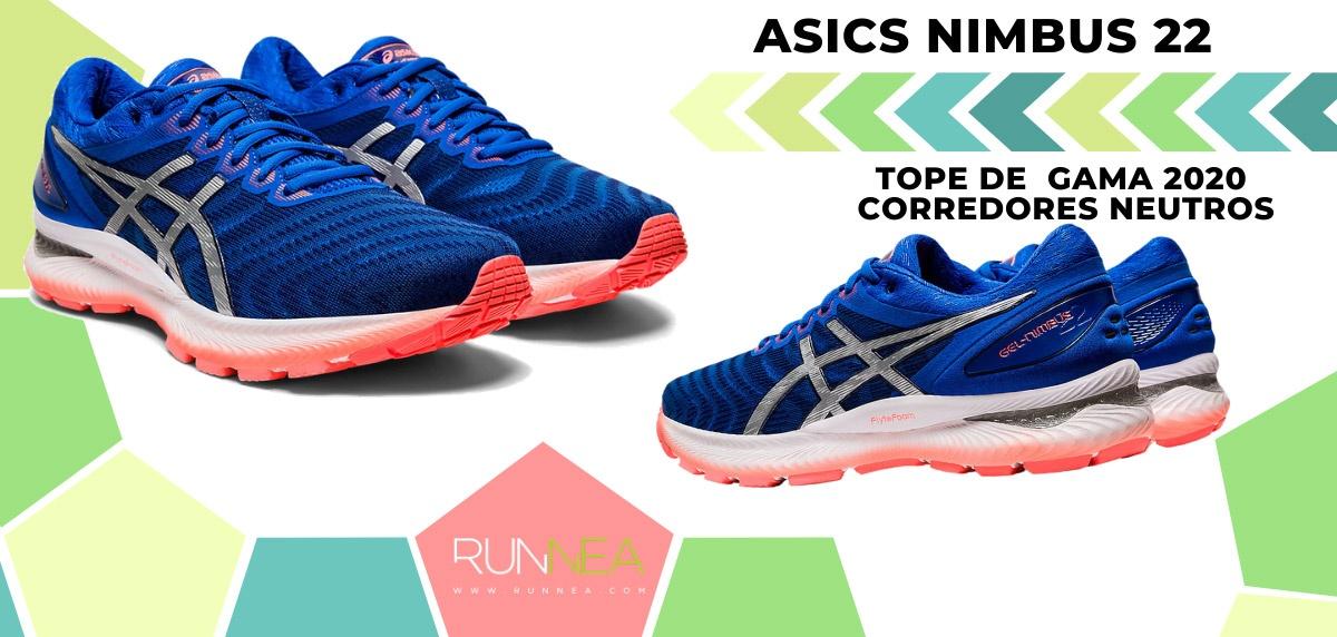 Las zapatillas de running de máxima amortiguación 2020 - ASICS Nimbus 22