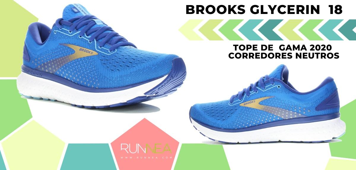 Las zapatillas de running de máxima amortiguación 2020 - Brooks Glycerin 18