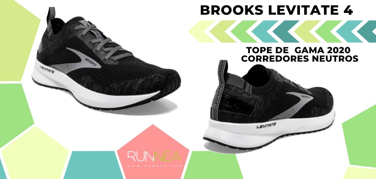 Las zapatillas de running de máxima amortiguación 2020 - Brooks Levitate 4