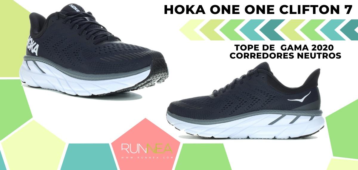 Las zapatillas de running de máxima amortiguación 2020 - Hoka One One Clifton 7