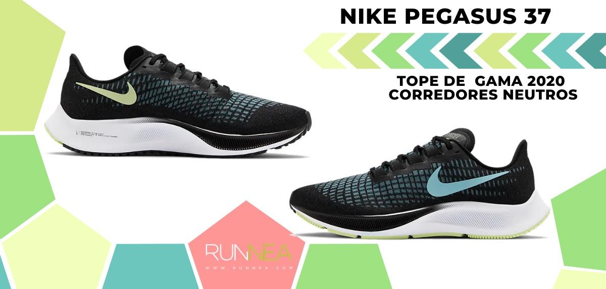 Las zapatillas de running de máxima amortiguación 2020 - Nike Pegasus 37