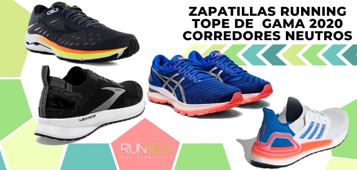 Las mejores zapatillas de running tope de amortiguación 2020 para corredores neutros