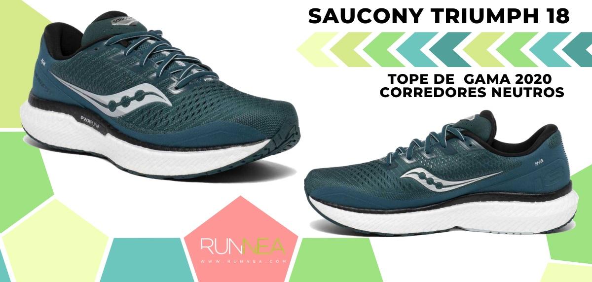 Las zapatillas de running de máxima amortiguación 2020 - Saucony Triumph 18