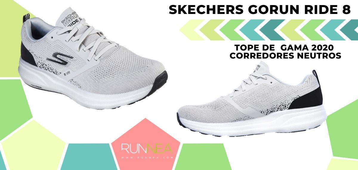 Las zapatillas de running de máxima amortiguación 2020 - Skechers GOrun Ride 8 Hyper