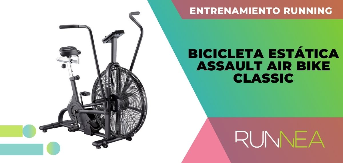 ¿Conoces los beneficios de la Air Bike en tu entrenamiento running? Bicicleta Estática Assault Air Bike Classic