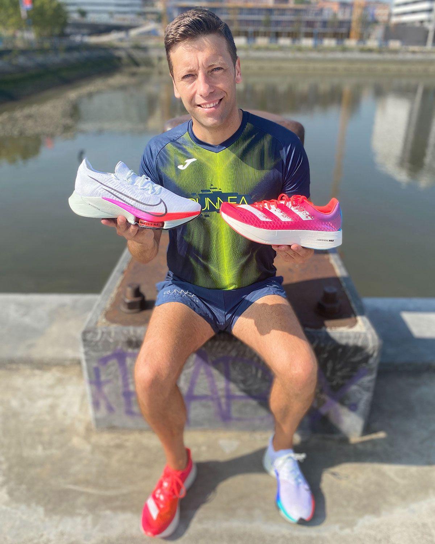 Comparativa Nike Air Zoom Tempo Next% vs adidas Adizero Adios Pro, a examen - foto 1
