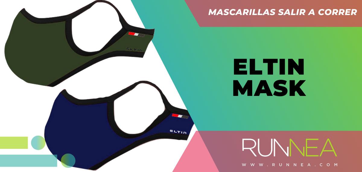 Las mejores mascarillas para salir a correr - Eltin Mask
