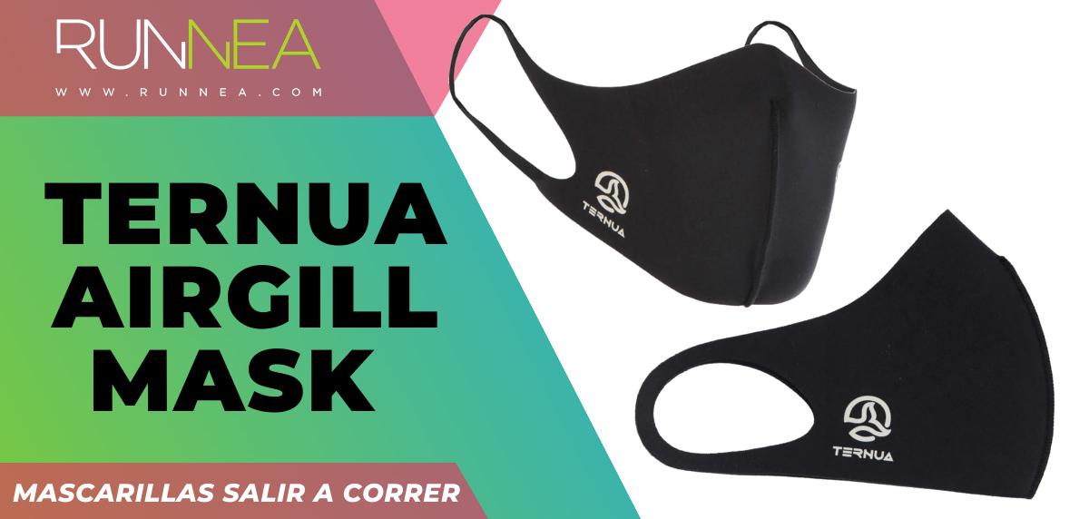 Las mejores mascarillas para salir a correr - Ternua Airgill mask