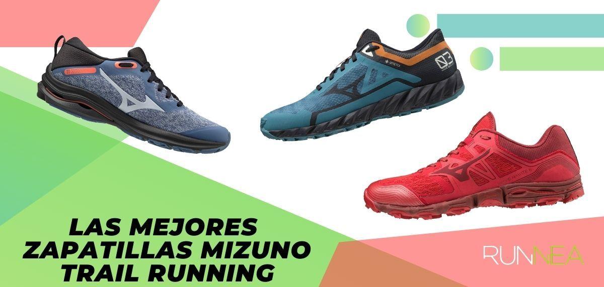 Lo mejor de Mizuno para trail running en 2020